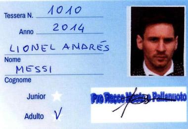 Messi Barcelona recco