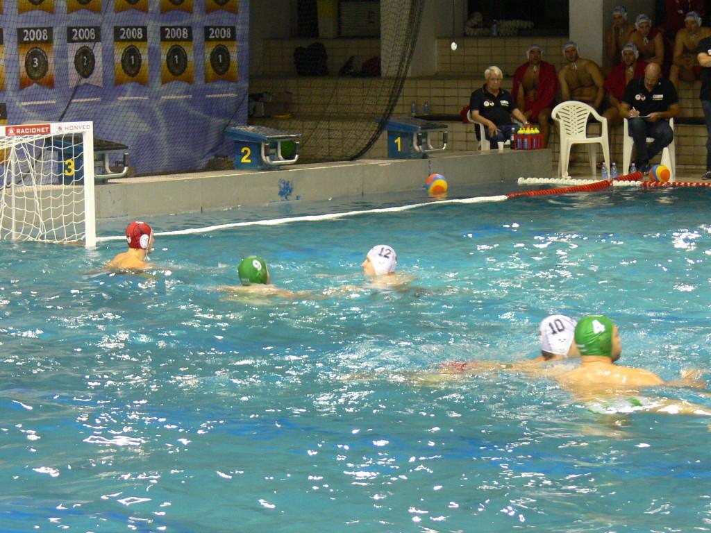 Végül elégnek bizonyult a Honvéd első meccsen szerzett előnye (Fotó: Vizipolo.hu)