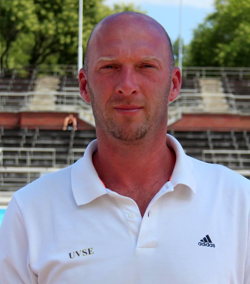 Németh Zsolt átveszi a felnőtt csapat irányítását (Fotó: UVSE)