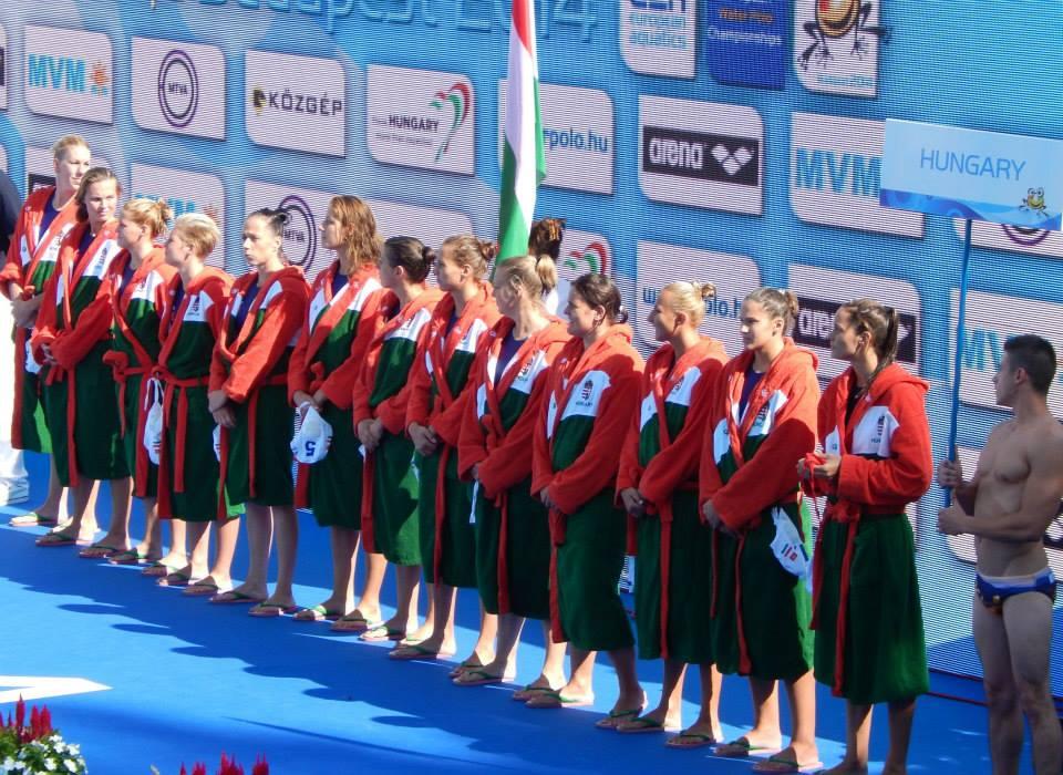 A nyári Európa-bajnokság után újra tétmeccsen a női válogatott (Fotó: Vizipolo.hu)