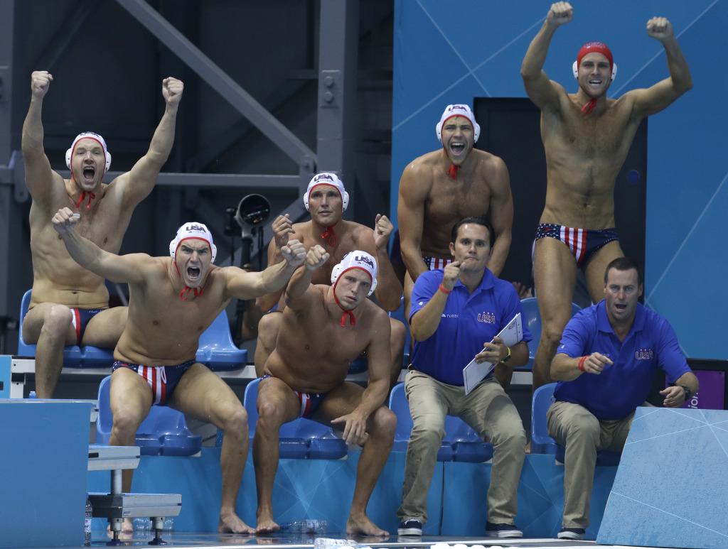 London Olympics Water Polo Men