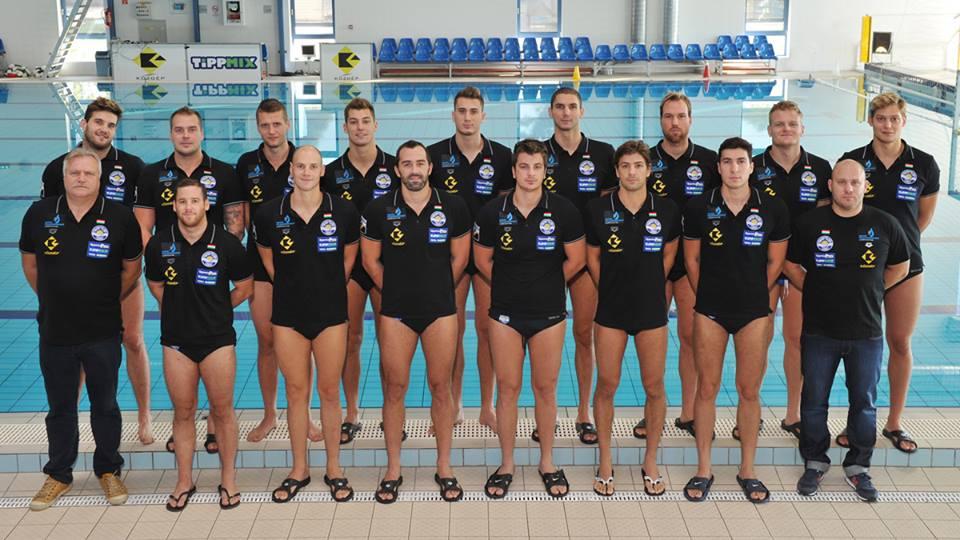2014-2015 Szolnok csapata