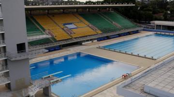 Rio 2016 uszoda régi