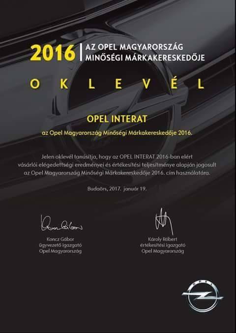 Image-1 Opel oklevél