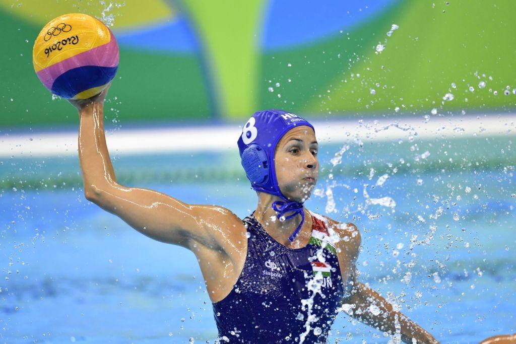 Rio de Janeiro, 2016. augusztus 15. Keszthelyi Rita a Rio de Janeiró-i nyári olimpia nõi vízilabdatornájának negyeddöntõjében játszott Magyarország - Ausztrália mérkõzésen az Olimpiai Uszodában 2016. augusztus 15-én. MTI Fotó: Illyés Tibor