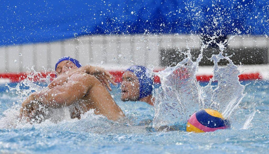 Rio de Janeiro, 2016. augusztus 6. Zalánki Gergõ (b) a 2016-os riói nyári olimpia férfi vízilabdatornája A csoportjának 1. fordulójában játszott Magyarország - Szerbia mérkõzésen a Rio de Janeiró-i Maria Lenk Uszodában 2016. augusztus 6-án. MTI Fotó: Illyés Tibor
