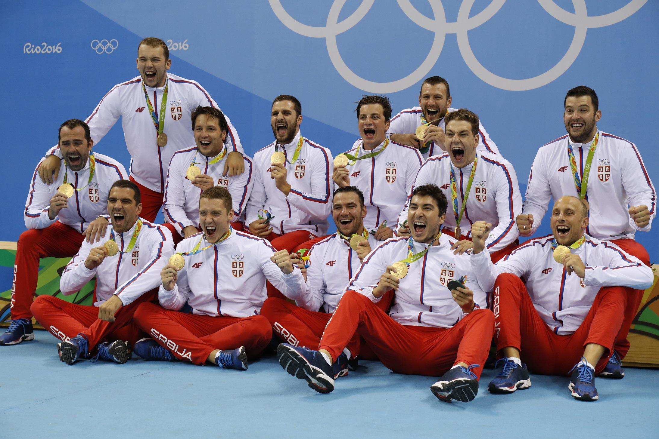 szerbiaolimpiai bajnok