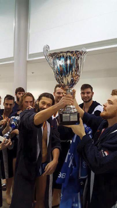Kupagyőztes a Waspo 98 Hannover csapata
