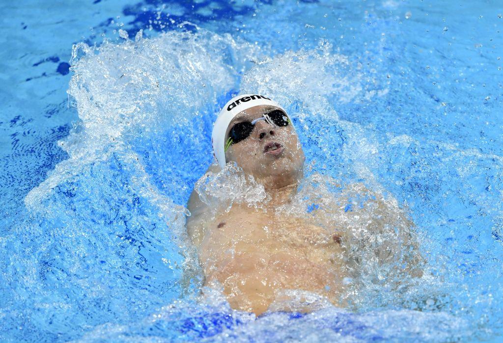 Budapest, 2017. július 30. Verrasztó Dávid a férfi 400 méteres vegyesúszás elõfutamában a 17. vizes világbajnokságon a Duna Arénában 2017. július 30-án. MTI Fotó: Illyés Tibor