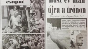 Legendás Kásás gólok – Húsz éve nyertünk Eb-t Sevillában!