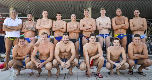 Szeged – Új edzővel kezdi a szezont a férfi vízipóló csapat a sportuszodában.  Fotó: Karnok Csaba