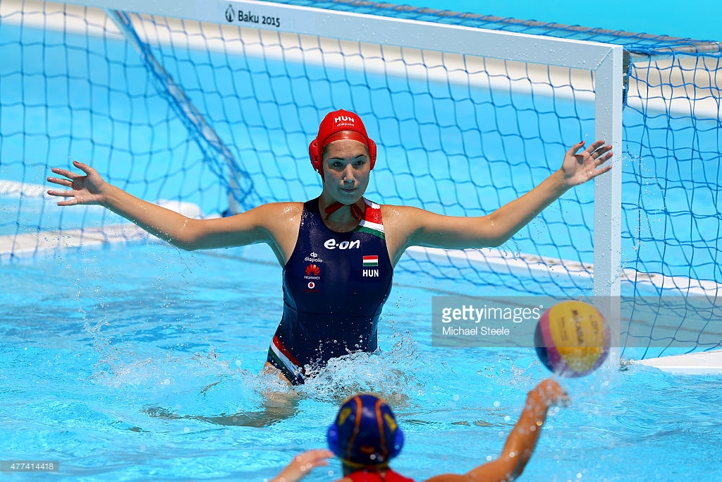 XXX of ZZZ competes in the (discipline & session name) during day five of the Baku 2015 European Games at the Water Polo Arena on June 17, 2015 in Baku, Azerbaijan.